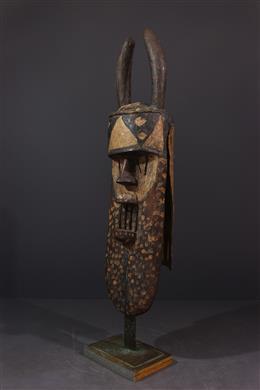Art africain - Grand masque Toma Landaï