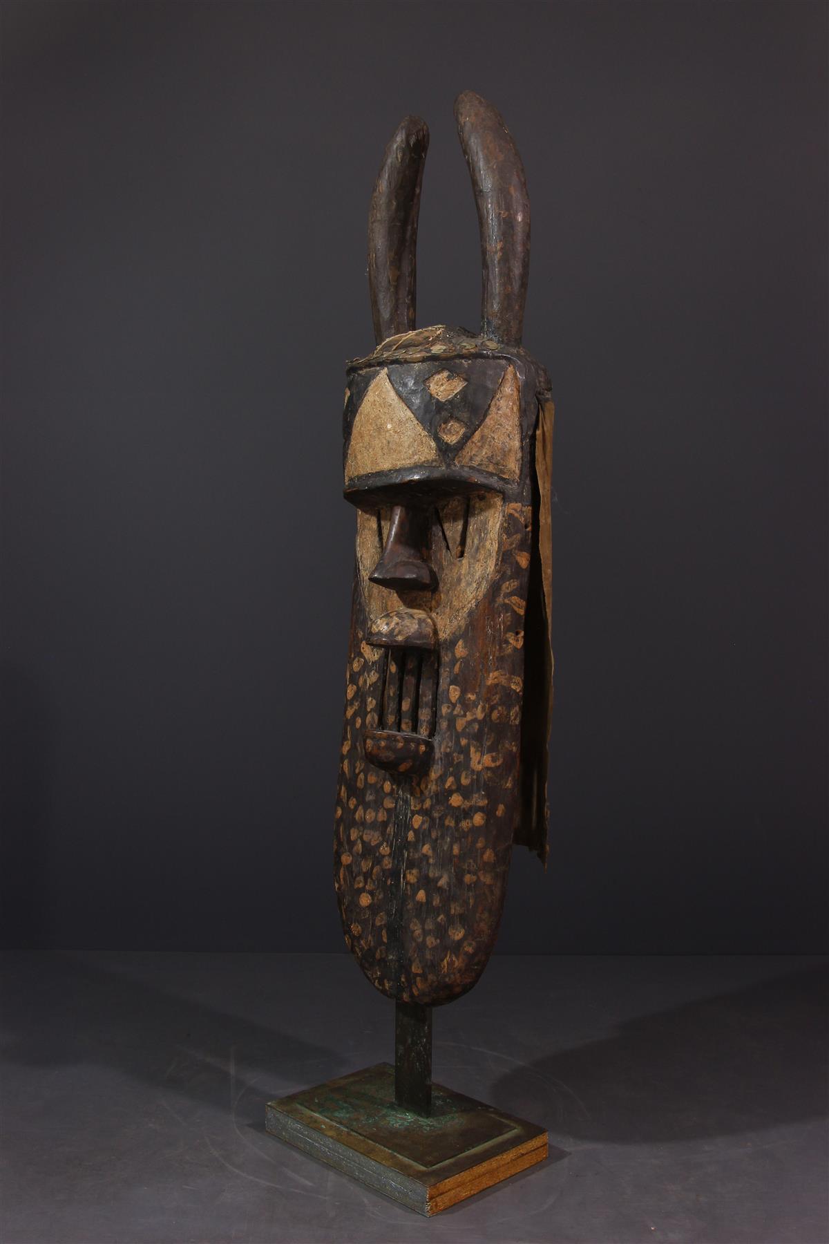 Masque Toma - Art africain