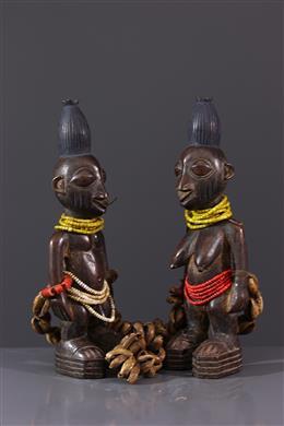 Figures de jumeaux Ibedji Yoruba