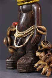 Statues africainesJjumeaux Ibedj