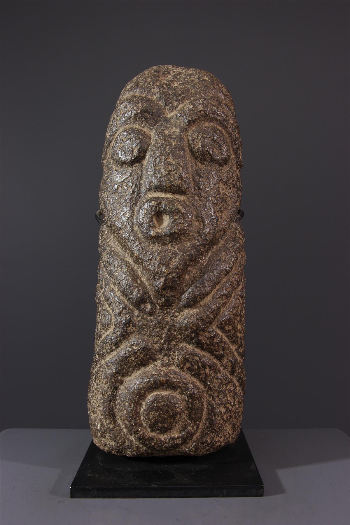 Monolithe Ekoi - Art africain