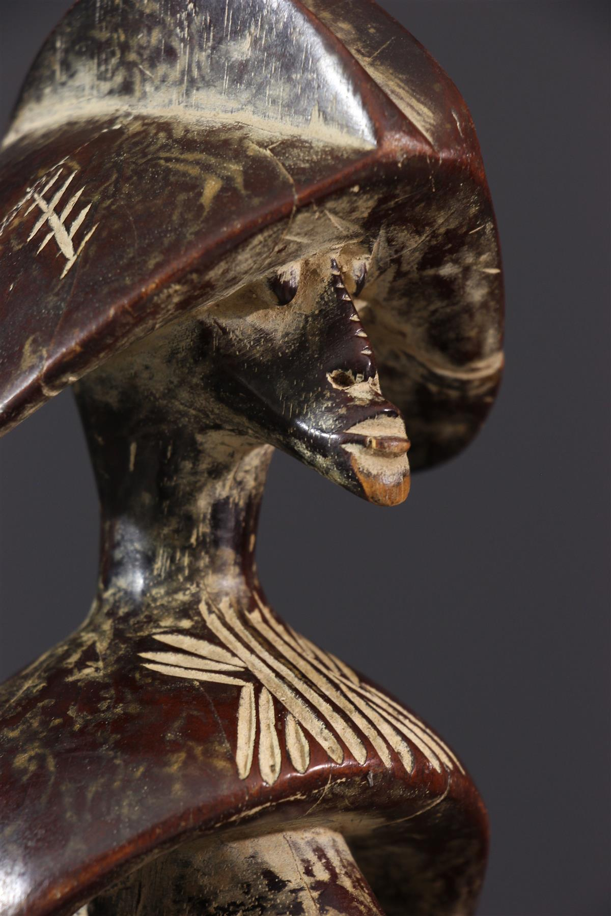 Statue Mumuye - art africain