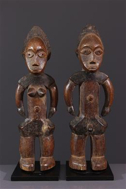 Couple d ancêtres Zande