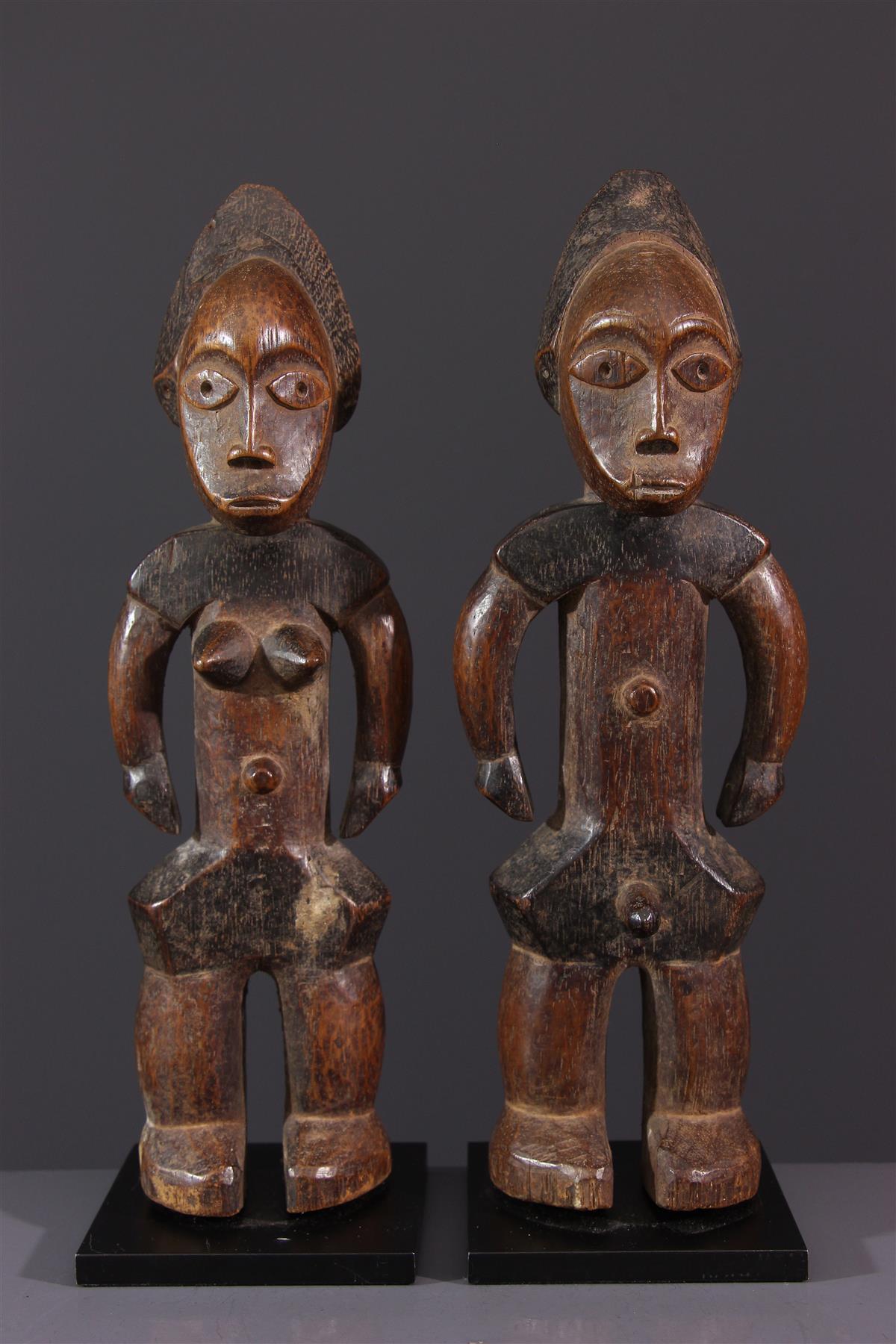 Statuettes Zande - Art africain