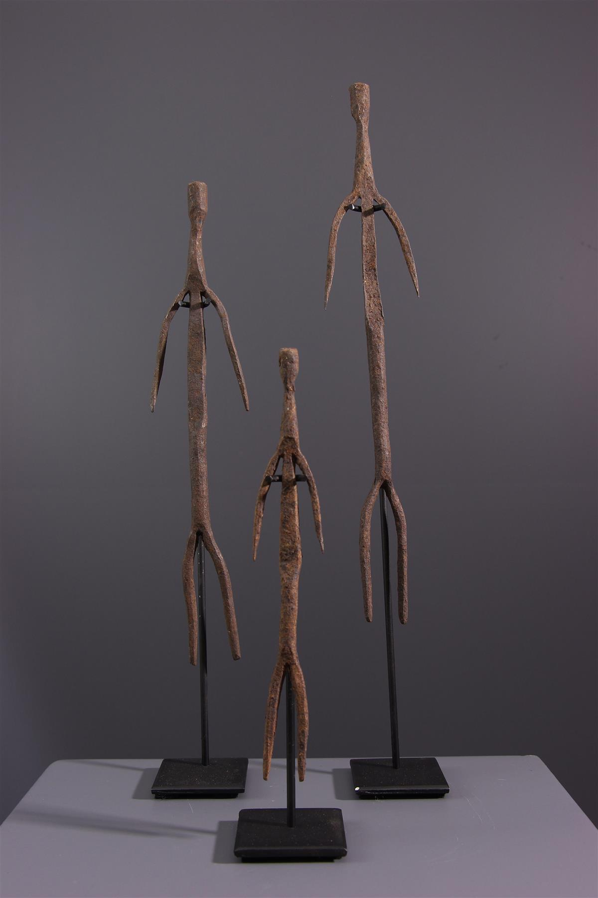 Statues Lobi - Art africain