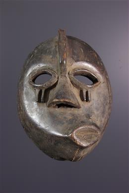 Masque de maladie Mbangu Pende