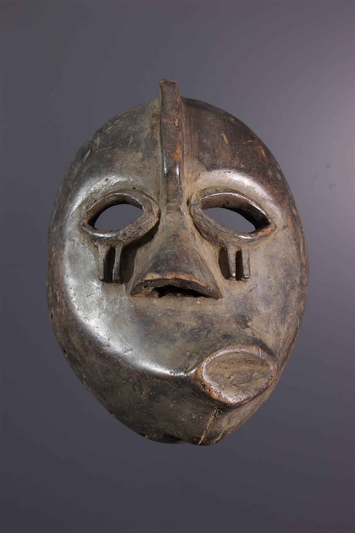 """Masque Pende """"malade"""" - Art africain"""