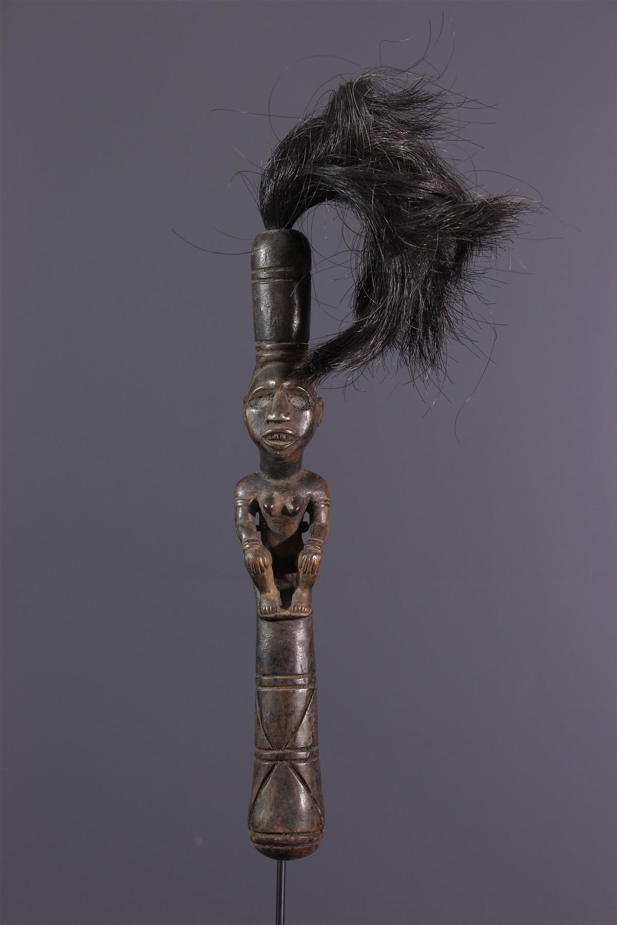 Chasse-Mouche Kongo - Art africain