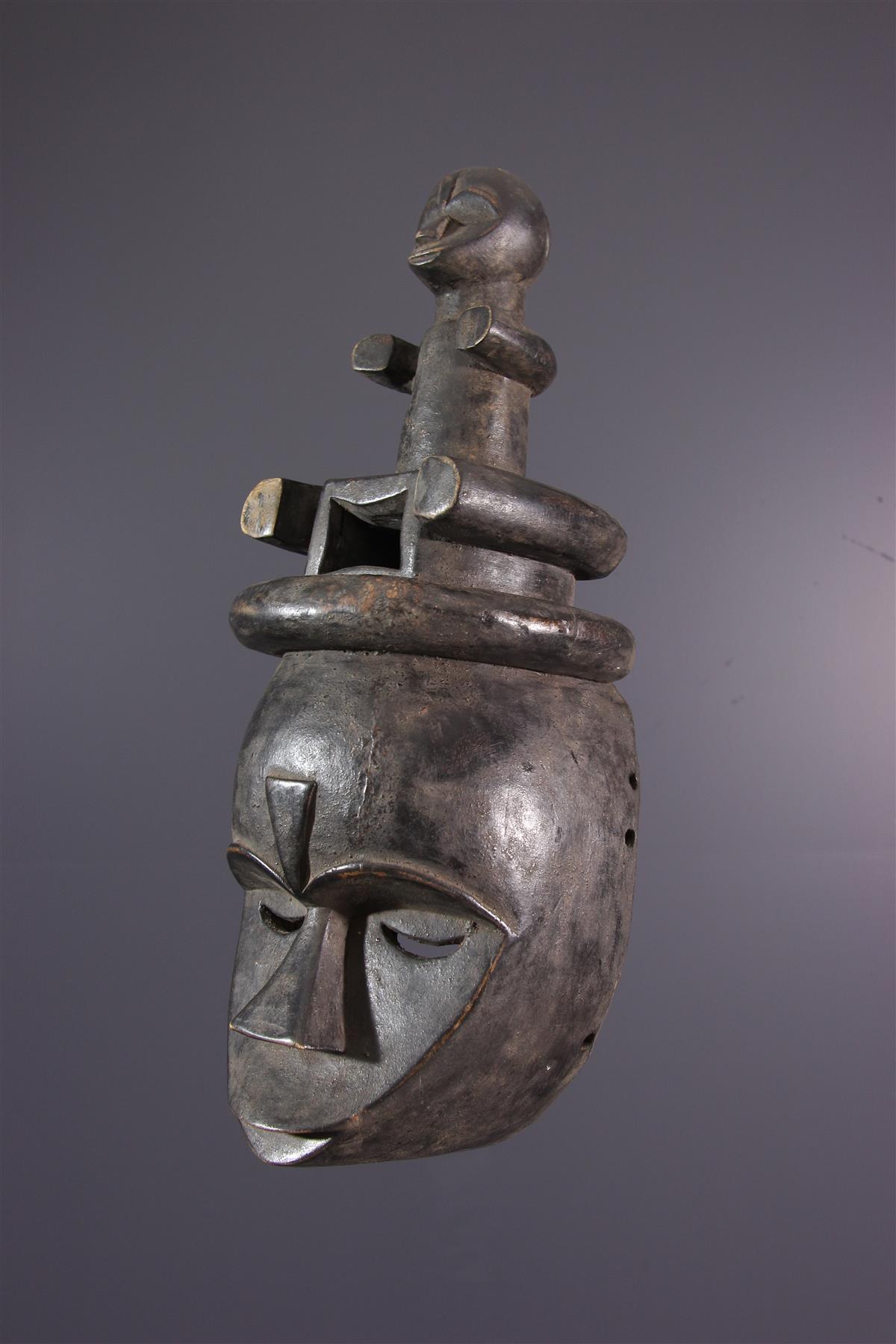 Masque Eket - Art africain