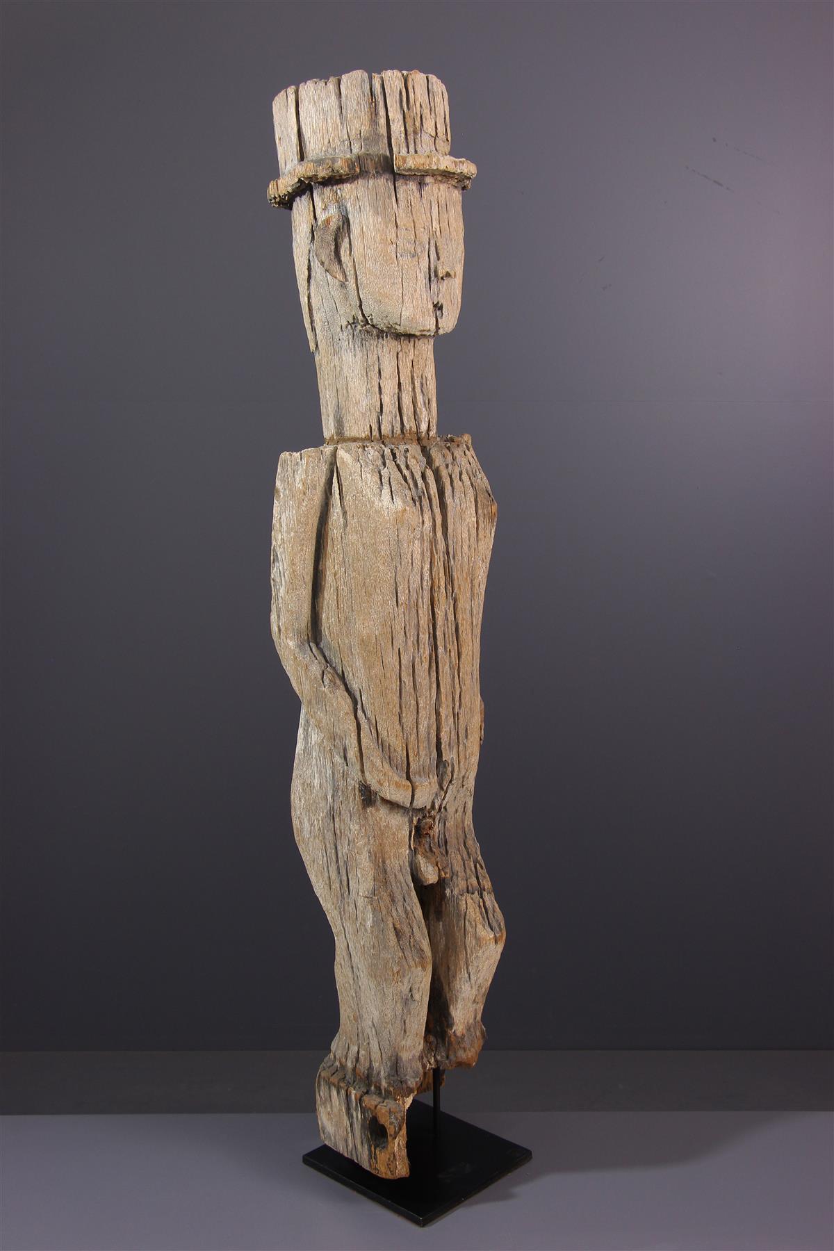 Statue Sakalava - Art africain