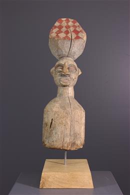 Statue de poteau Yaka Tsiinda