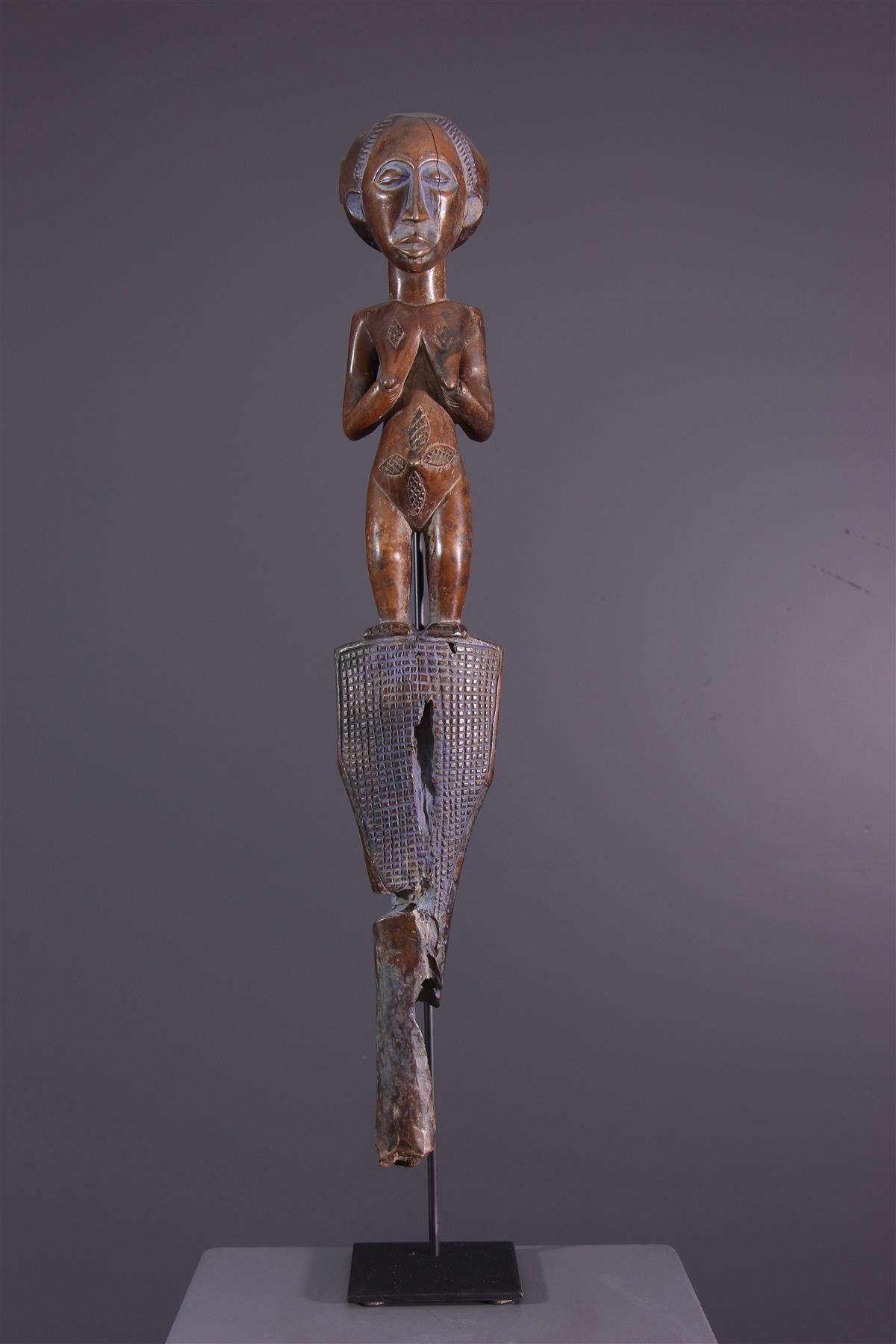 Bâton Luba - art africain