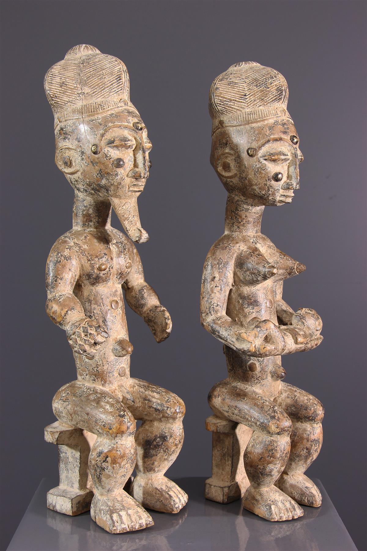 Couple Attié - Art africain