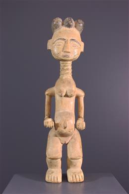 Statue de fécondité Ashanti / Attié