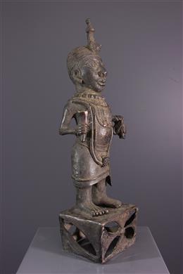 Statue Bénin en bronze
