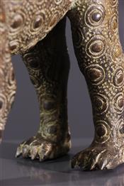 Statues africainesLéopard Bénin
