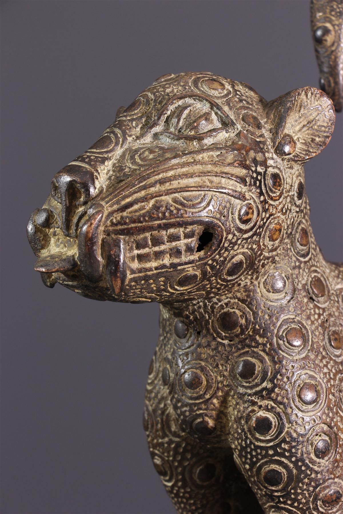 Léopard Bénin - Art africain
