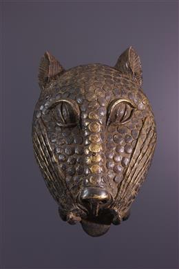 Tête de léopard Bénin