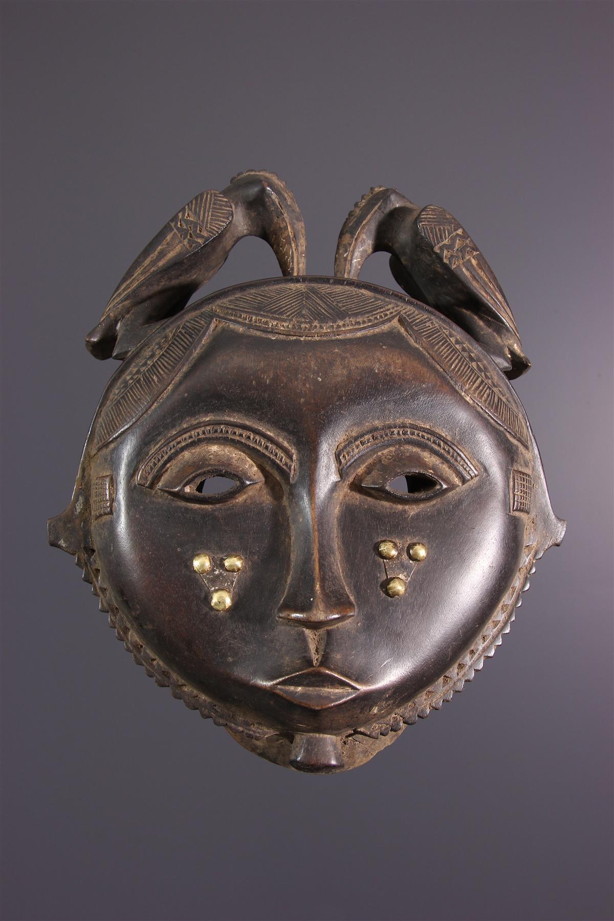 Masque Baoulé/Yaouré - Art africain