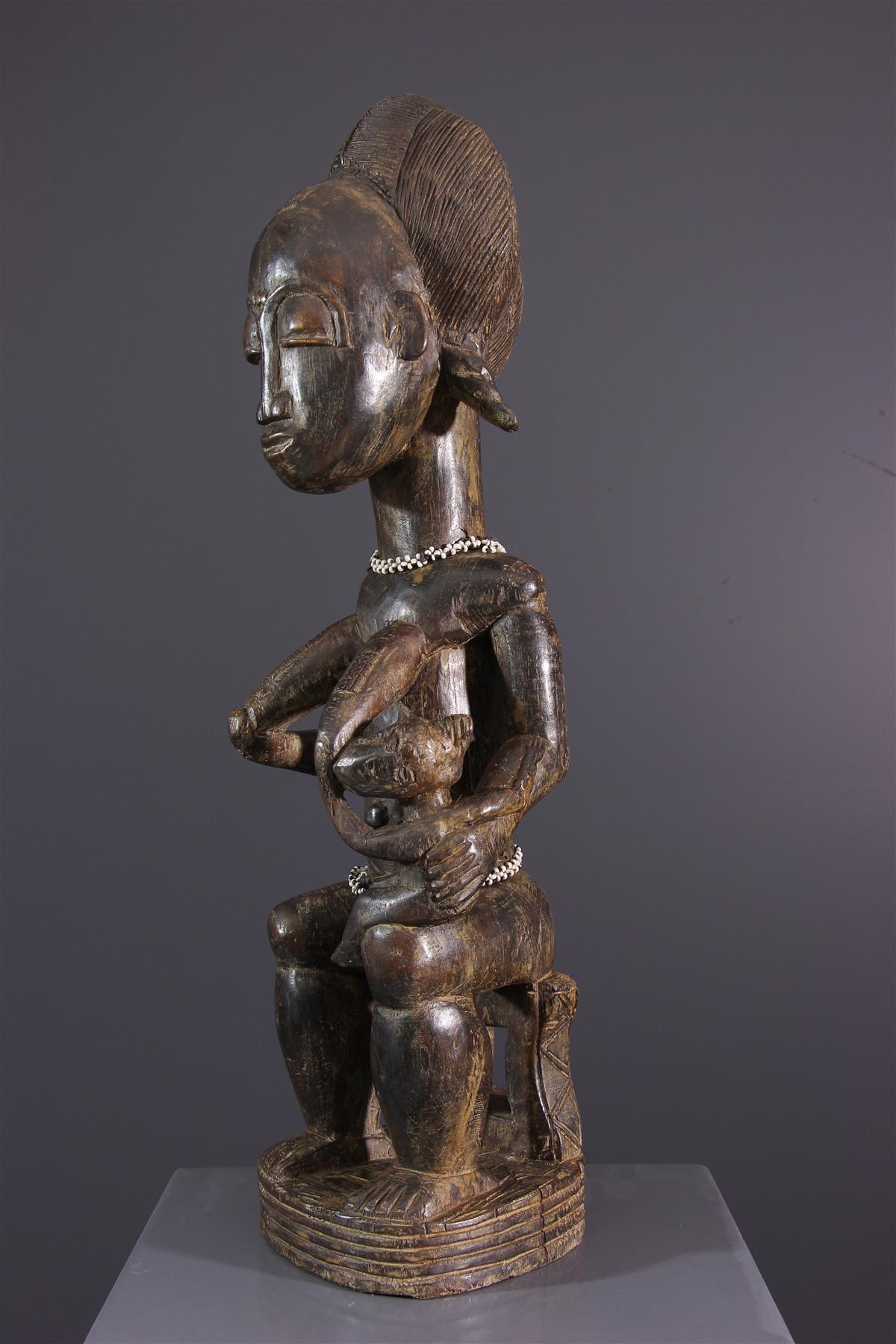 Maternité Baoulé - Art africain
