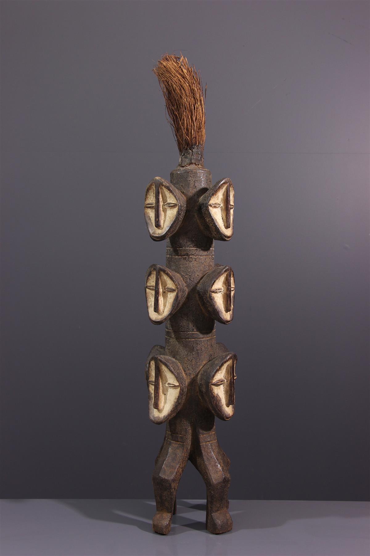 Poteau Lega - Art africain