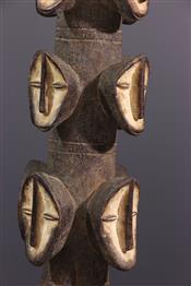 Statues africainesPoteau Lega