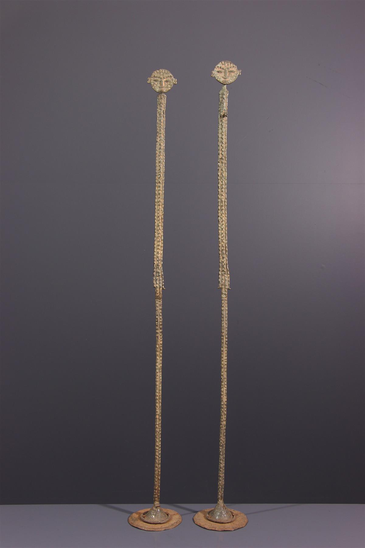 Couple Dogon - Art africain