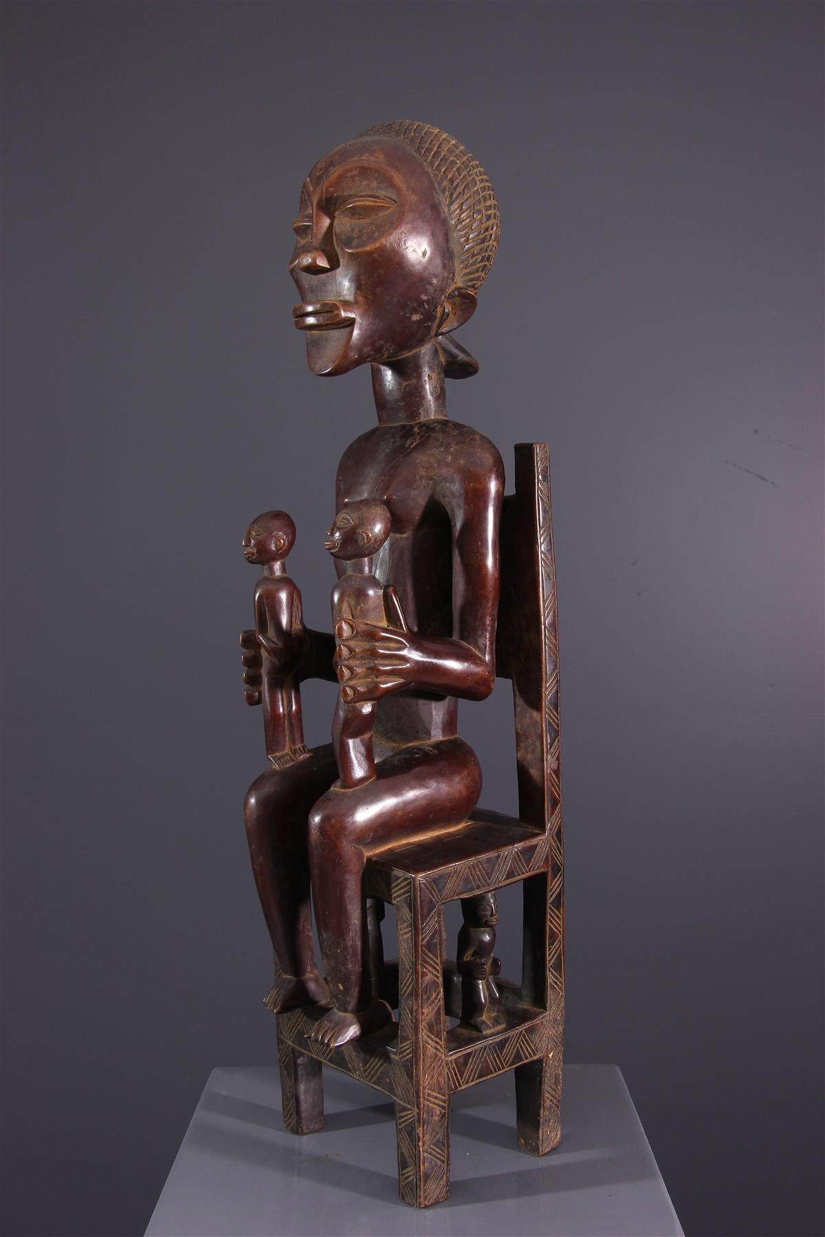 Maternité Chokwe - Art africain