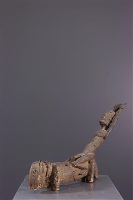 Figure d  autel Tellem / Dogon