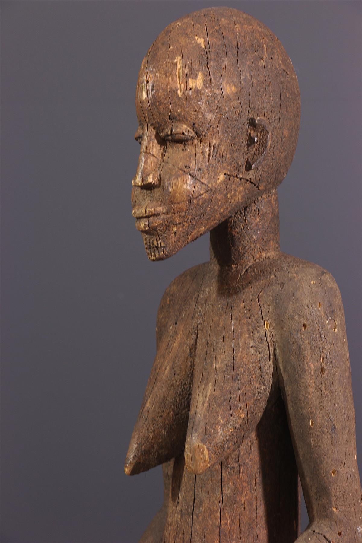 Statue Lobi Bateba - art africain