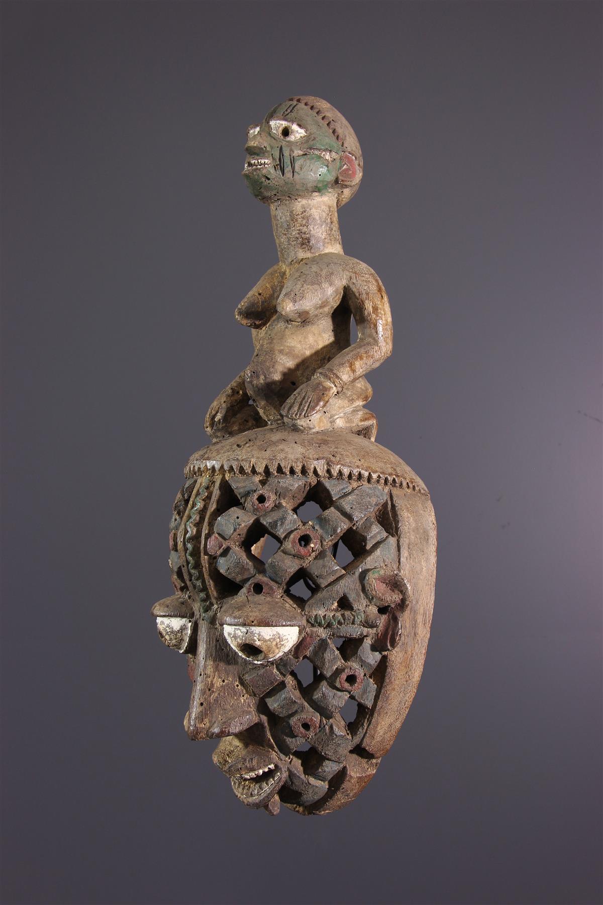 Masque Yoruba - Art africain
