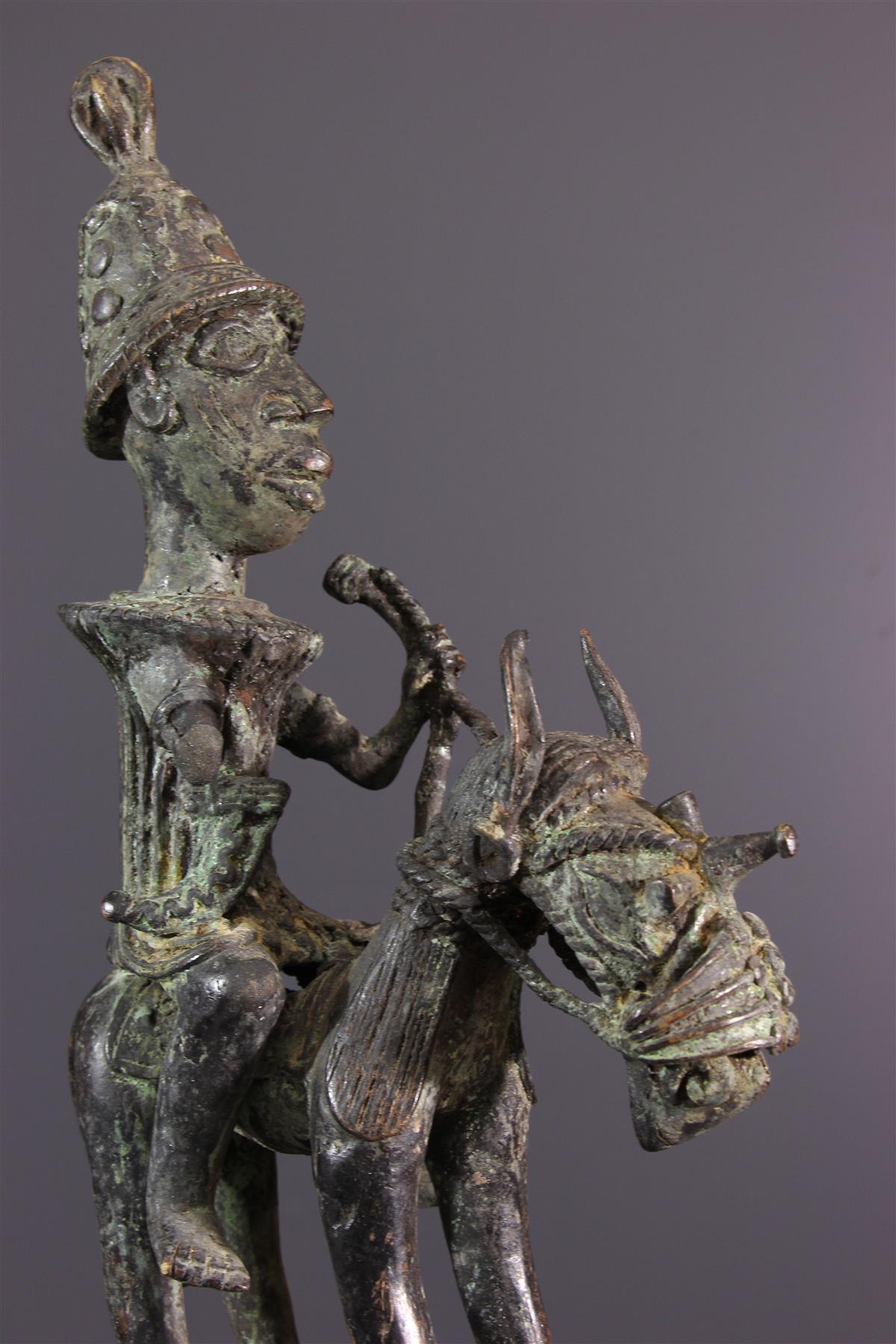 Cavalier Bénin - Art africain