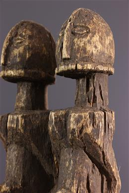 Art africain - Couple de figurines Dogon