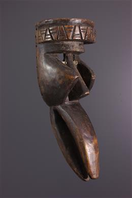 Art africain - Masque Dan Kaoglé