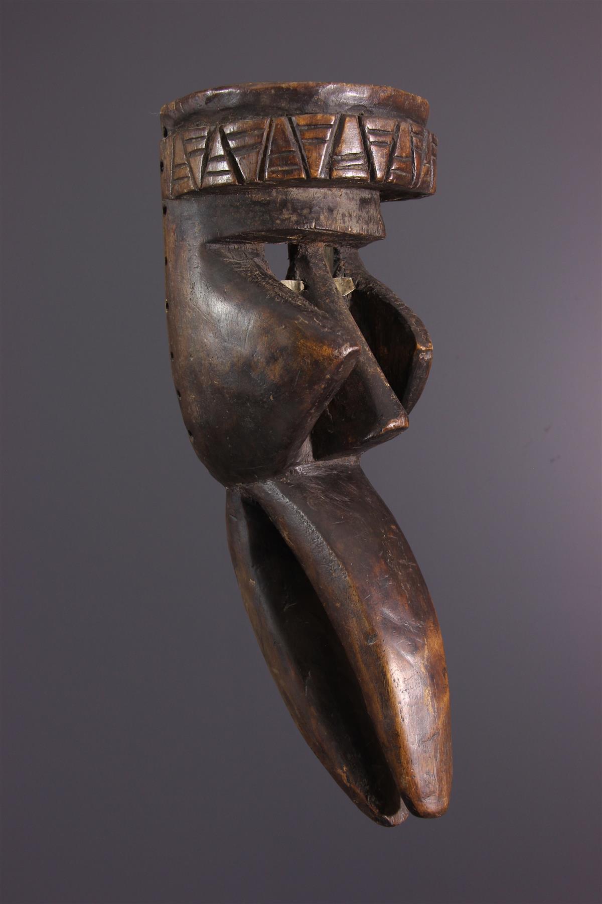 Masque Wé Wobé - Art africain