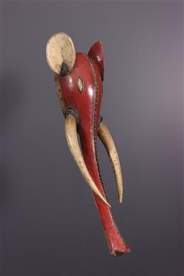 Masque éléphant Gouro