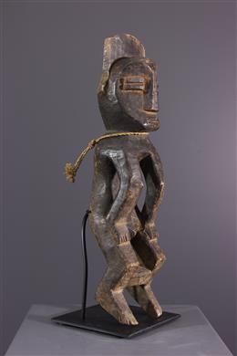 Art africain - Statue Mbole de Pendu Ofika