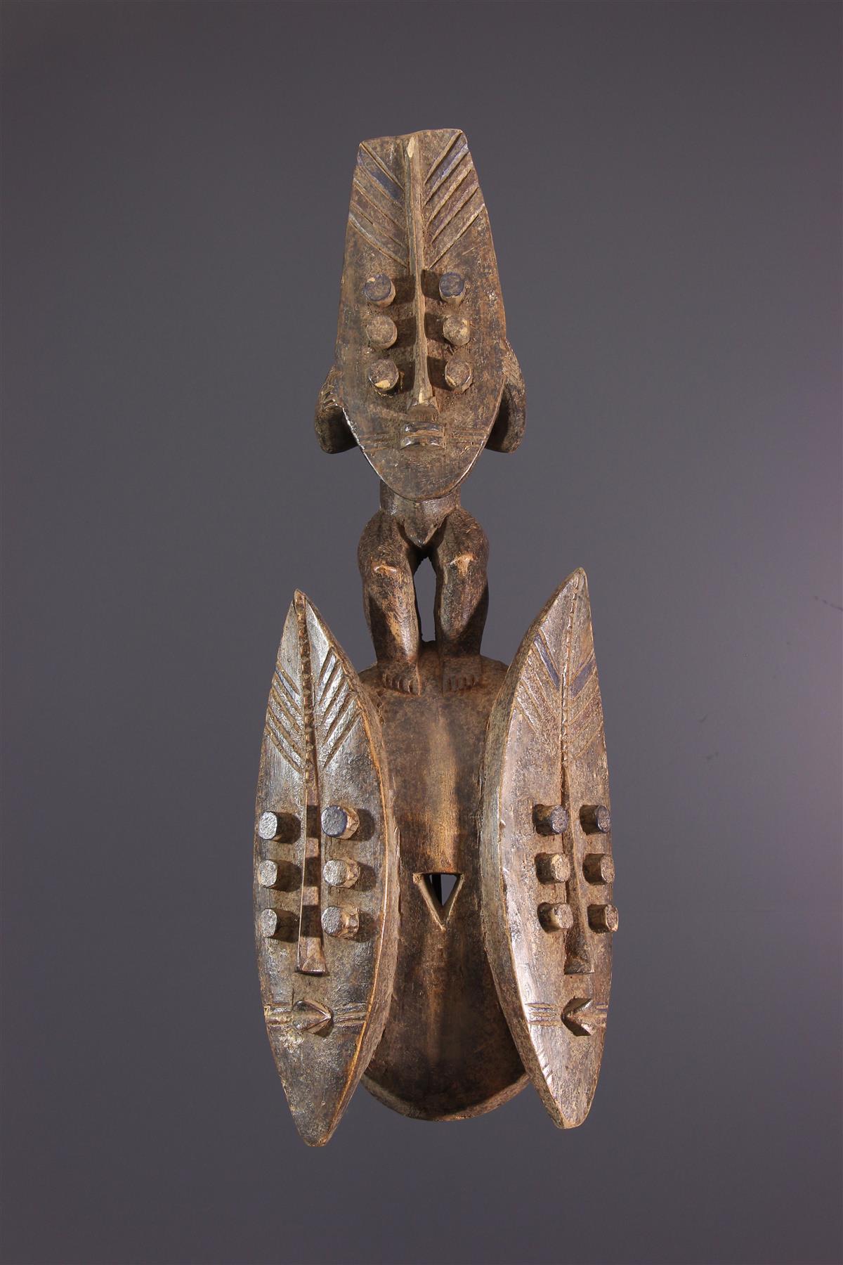Masque Grebo / Krou - Art africain