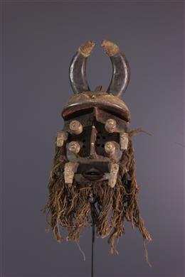 Masque de guerrier - Guéré - Bété