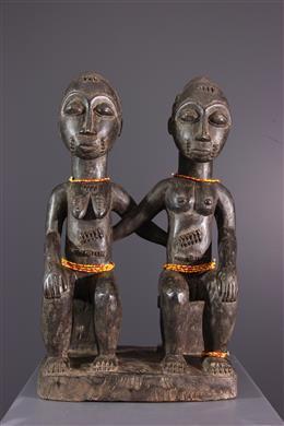 Couple de conjoints célèstes - Baoulé - Asye usu