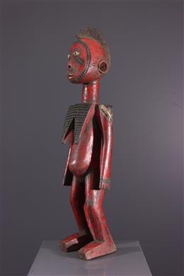 Statue de fertilité Mossi polychrome