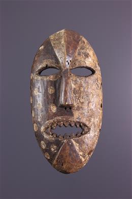 Art africain - Masque Komo Nsembu
