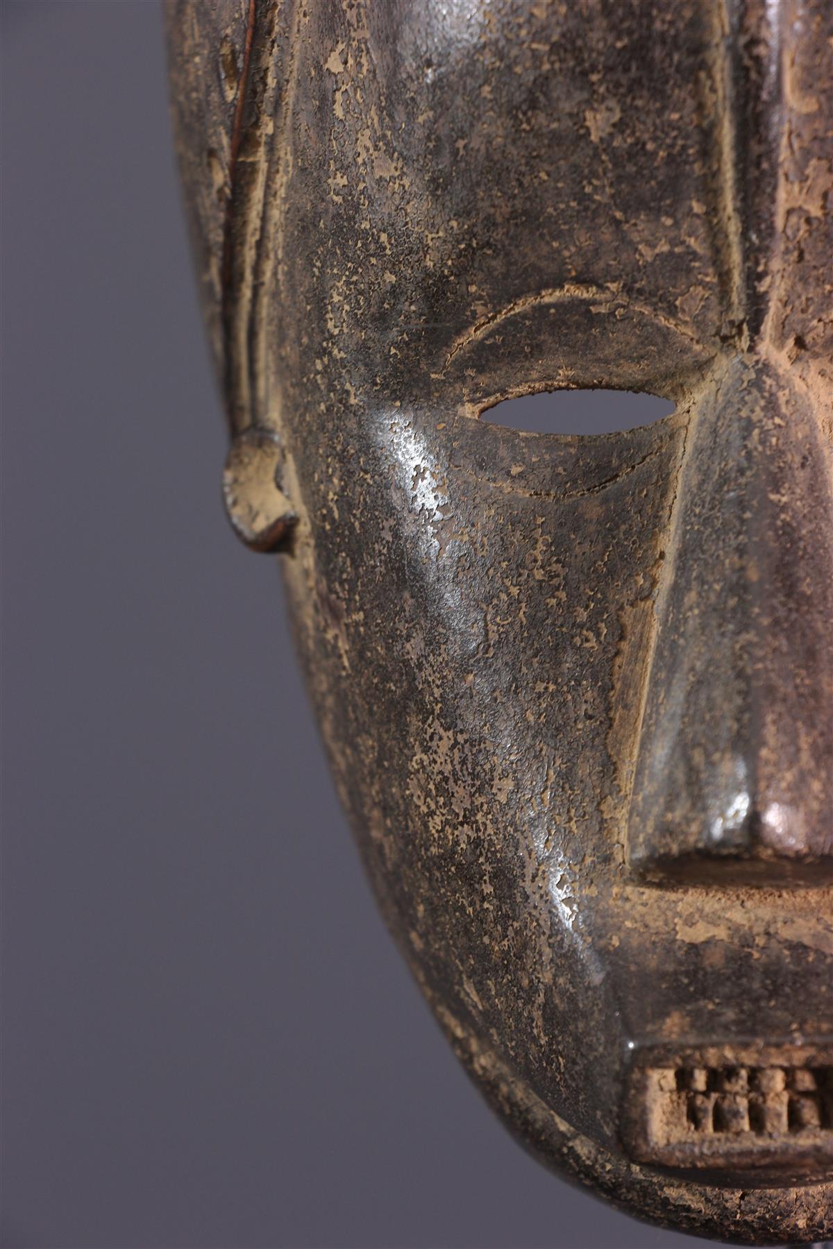 Masque Gouro Zaouli - art africain