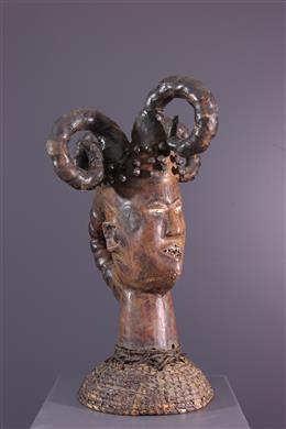 Masque cimier Ejagham - Art africain