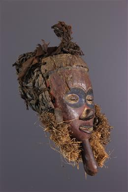Masque  facial Yaka polychrome
