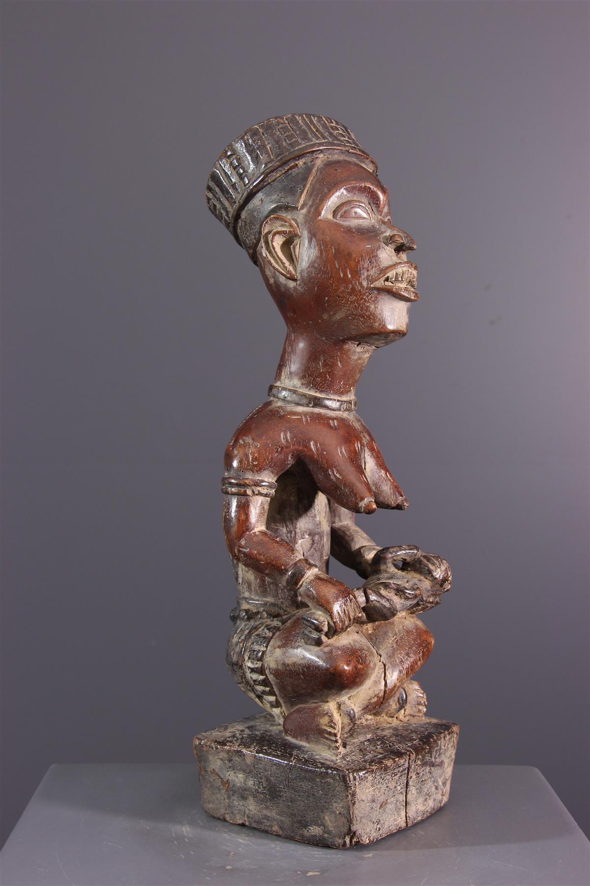 Statue Phemba - Art africain
