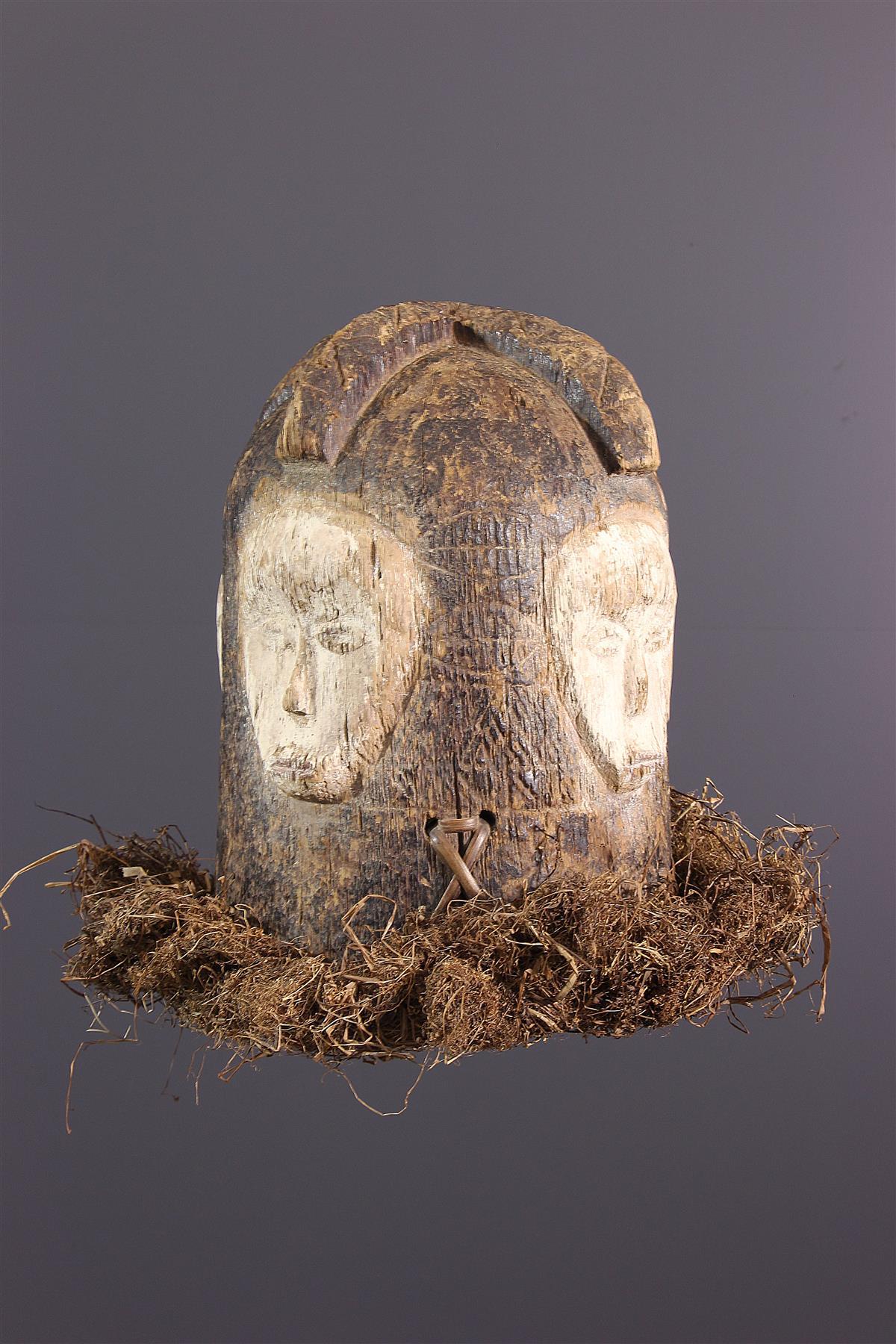Masque heaume Fang - Art africain