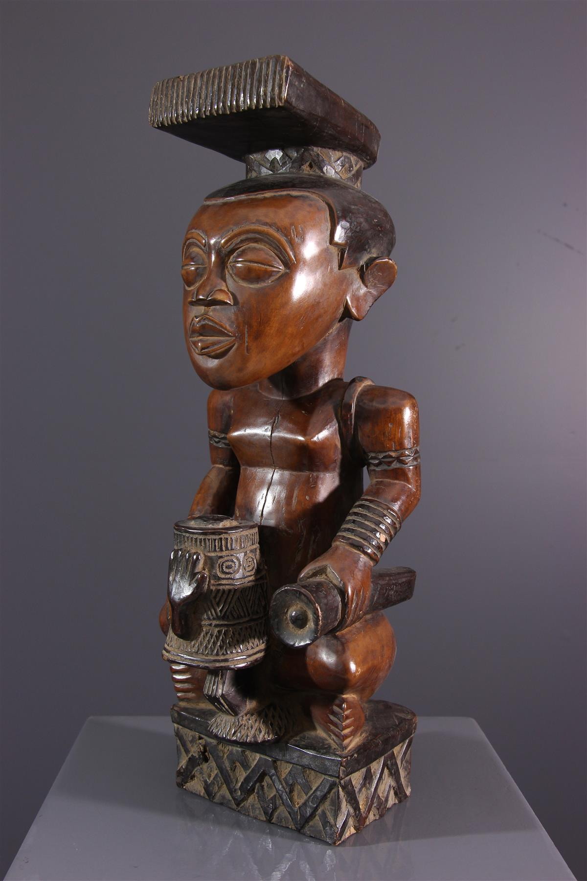 Statue Ndop - Art africain