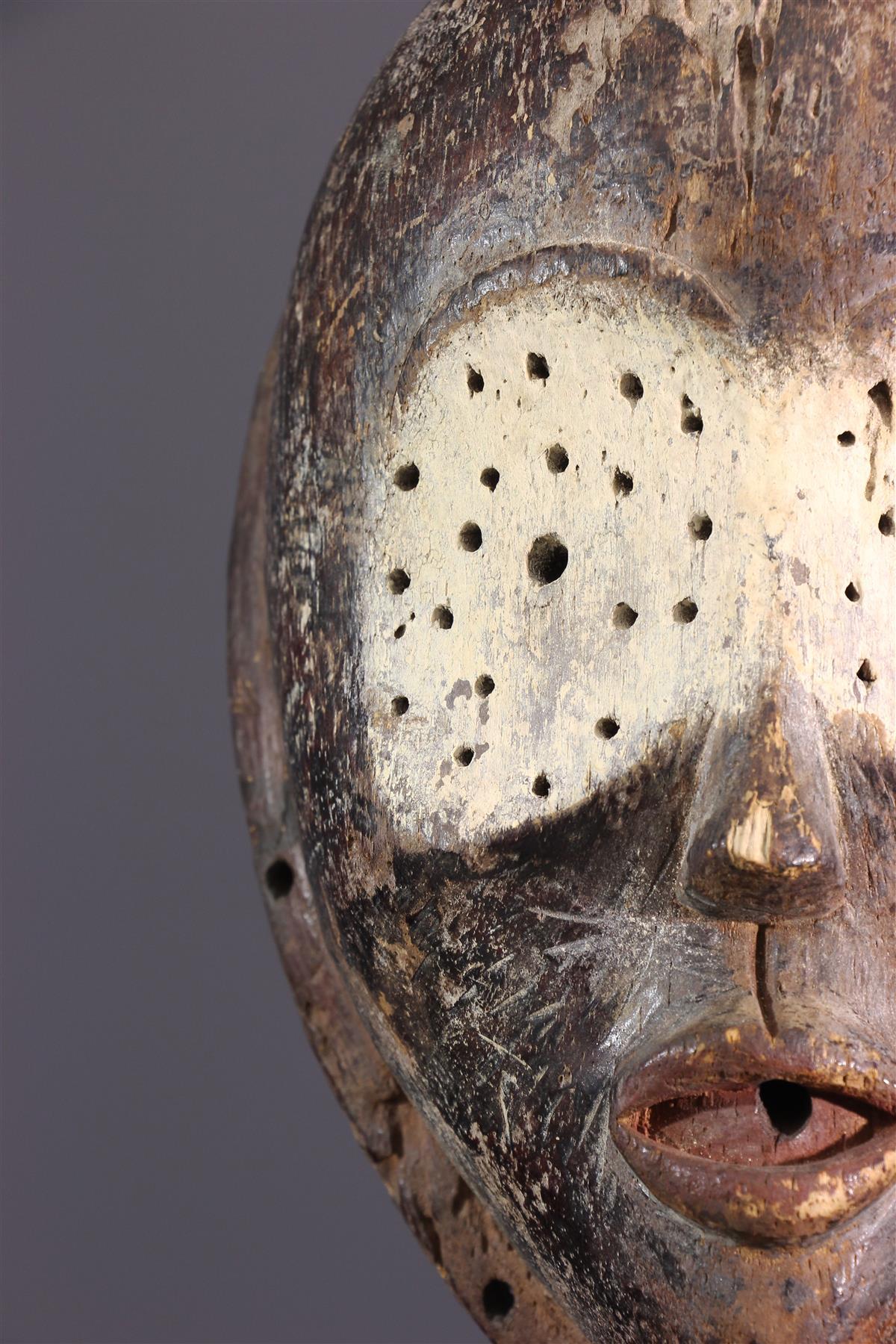 Masque Lulua - Art africain