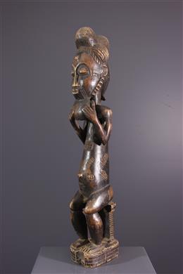 Statue Baoulé Assié Usu